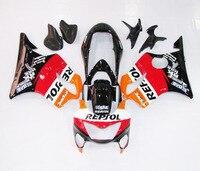 Injection ABS Full Fairing Kit Bodywork for Honda CBR600 CBR600F F4 99 00 1999 2000
