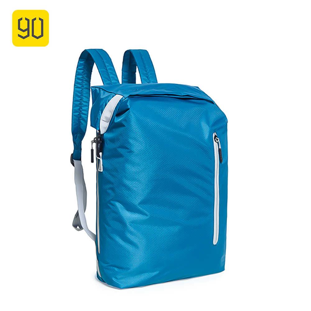355bb8ea2ee3 Xiaomi 90 Забавный Легкий рюкзак сумка на плечо водостойкая складная сумка  портативный сумка для укладки вещей