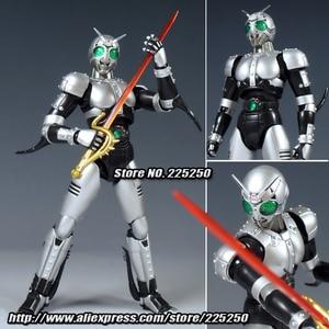 Image 1 - Japan Kamen Masked Rider Original BANDAI Tamashii Nations SHF/ S.H.Figuarts Toy Action Figure   Shadow Moon Ver 1.0
