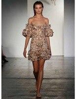 Для женщин Окрашенные Сердце складки плиссированное платье Холтер галстук многоцветная персик Гобелены с открытыми плечами мини платье