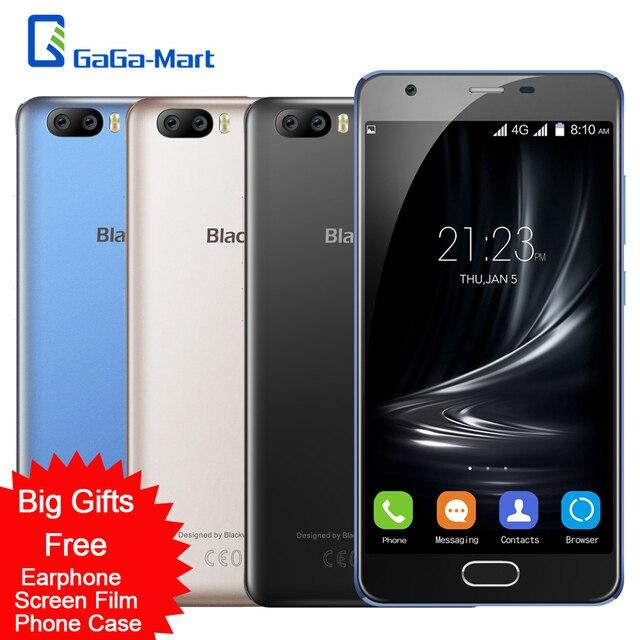 """Blackview a9 pro 4 г смартфон android 7.0 mtk6737 quad core 2 ГБ + 16 ГБ 8mp двойной задней камеры отпечатков пальцев 5.0 """"5-дюймовый Мобильный Телефон"""