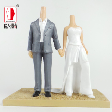 Wedding Cake Topper wedding gift custom avatar personality custom real doll custom clay dolls fixed resin body SR130