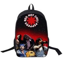 Rock Band Red Hot Chili Peppers/Slipknot/Tueur Sac À Dos pour Les Adolescents Filles Sacs D'école Hommes Femmes Sac Rue Rock Sacs À Dos