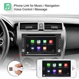 Image 3 - 2DIN Car DVD Player Radio GPS Bluetooth Carplay Android Auto for X TRAIL Qashqai x trail juke for nissan SWC FM AM USB/SD