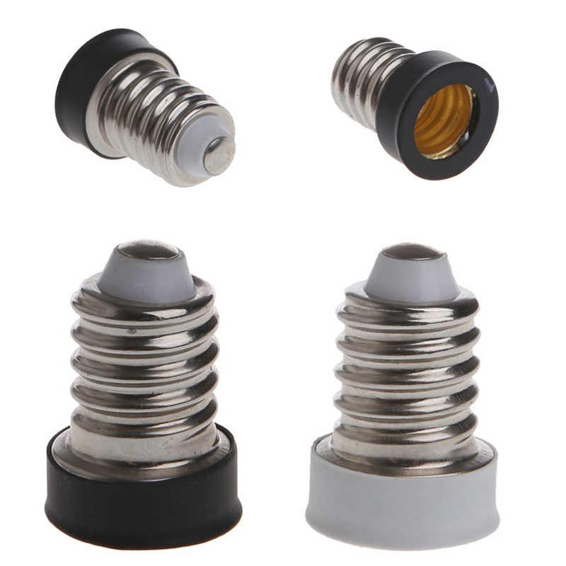 1 Máy Tính E14 Để E12 Căn Cứ Adapter LED Ổ Cắm Chuyển Đổi Đèn Giá Đỡ Adapter L15