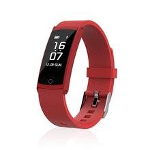 2017 умный Браслет крови Давление крови кислородом монитор сердечного ритма фитнес-трекер спортивные часы браслет для Android IOS Телефон
