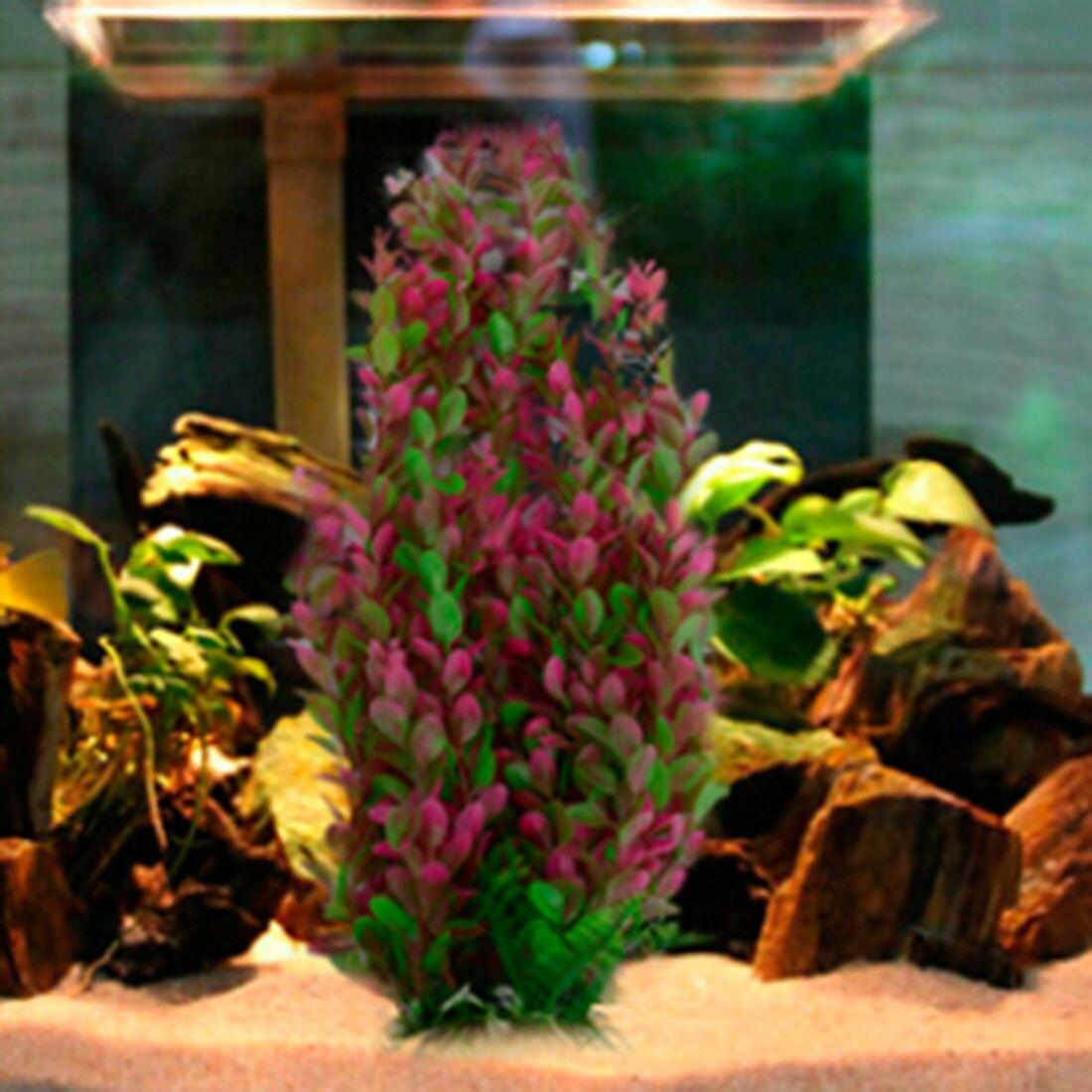 Fish aquarium sale in qatar - Underwater 46cm Water Plant Aquarium Fish Tank Ornament Simulation Plastic Decoration China Mainland