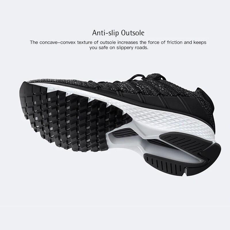 Chaussures d'origine Xiaomi Mijia 2 baskets Sport Uni-moulage Techinique système de verrouillage en arête de poisson empeigne à tricoter élastique pour hommes et femmes - 5