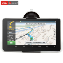 Junsun 7″ car gps navigation Android MT8127 Quad-core automobile navigator Bluetooth WIFI europe/navitel Map truck gps sat nav