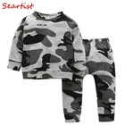 Seartist 2018 New Baby Boys Clothing Set Sweatshirt+Pants Camouflage Children Sets Suits Kids Girls Boy Clothes Kids Suits 30C