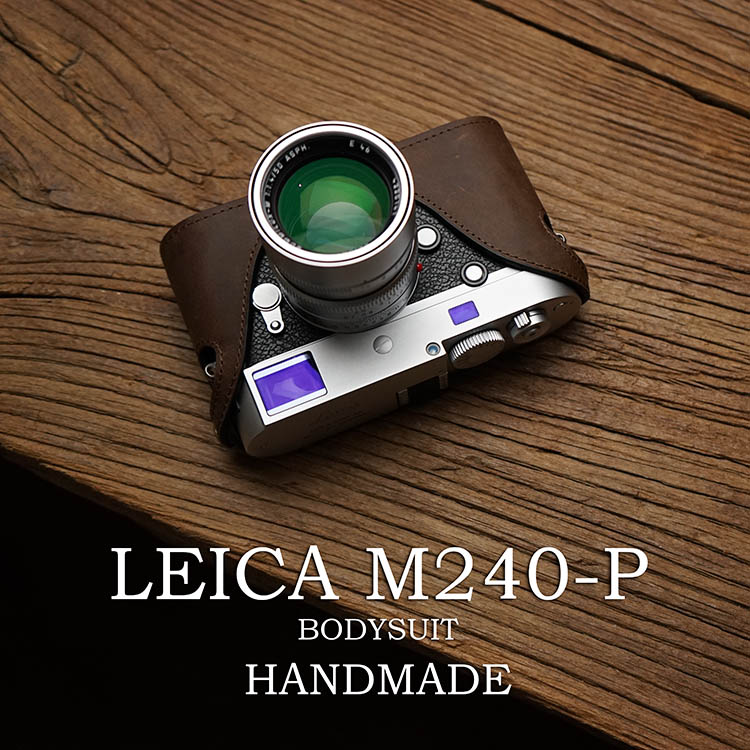 Mr.Stone Handmade Genuine Leather Camera case For Leica M M240-P M240 M-P M-M Camera Bag Half Cover Vintage Case туфли p m m 2015