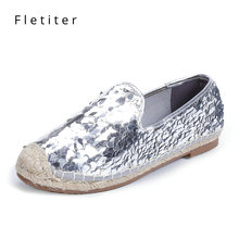 Buy bling bling sequined espadrilles and get free shipping on AliExpress.com 2042eb1c3863