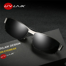 UVLAIK Luxury Brand Mens Polarized UV400 Sunglasses