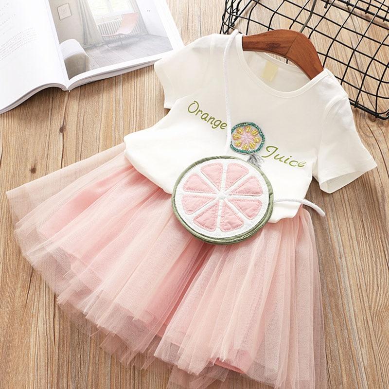 Melario Κορίτσια Φορέματα 2019 Γλυκό - Παιδικά ενδύματα - Φωτογραφία 4