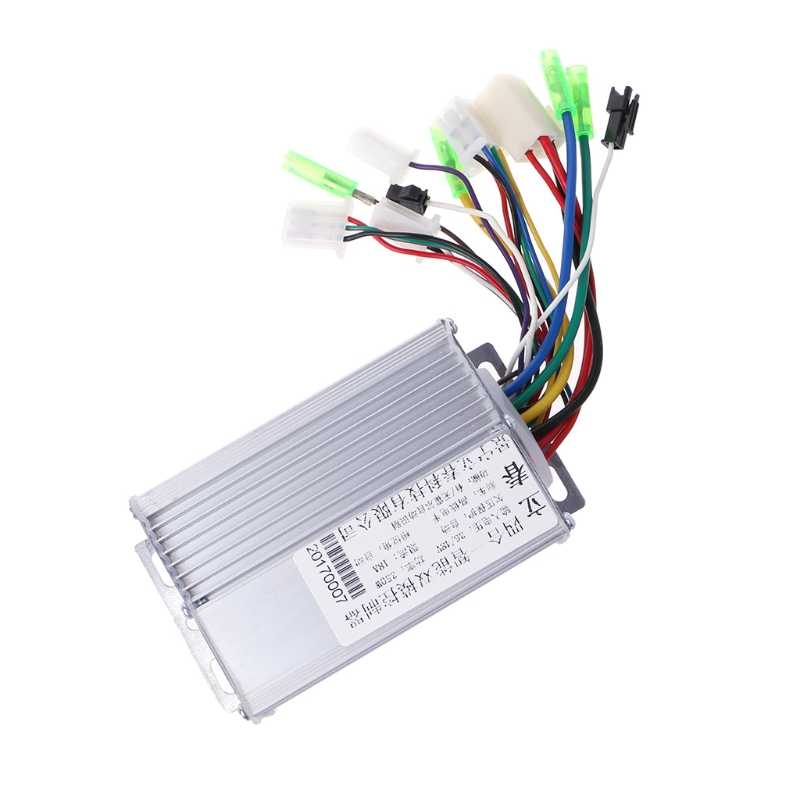 36V/48V 350W Electric Bicycle E-bike Scooter Brushless DC Motor Controller #0406
