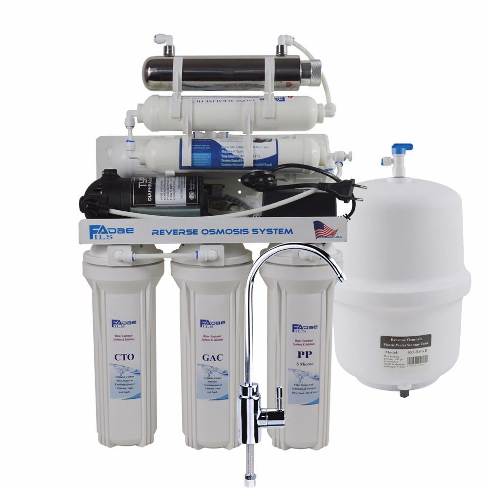 Undersink Reverse Osmosis Drinking Water Filter System with UV Sterlizer and Alkaline Filter/after filter ph value of 8.0-9.50 kiteveen91rac74983ct value kit lysol quaternary disinfectant cleaner rac74983ct and energizer industrial alkaline batteries eveen91