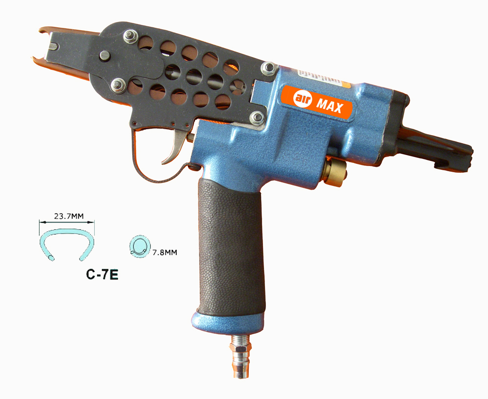 Woodpecker Hog Ring Plier Gun C7E With 1000pcs 15G100 Rings, with hand carry box (not include the custom tax)  цены