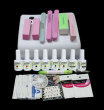 FT-73 High quality uv gel nail polish kit ,gel nail polish kit ,uv kit manicure with uv lamp,uv nail art set,manicure product