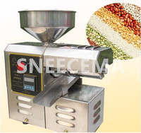 Automatic Stainless Steel Small Home Oil Press Machine Cold Hot press for peanut,coconut,oil extraction
