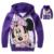 Ropa de las muchachas de Mickey Minnie Mouse Ropa de Otoño Sudaderas Deportivas Sudadera La reine des neiges Sudadera Traje Para 2 4 6 8 10 año