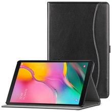 Чехол AROITA для Samsung Galaxy Tab A 10,1 «2019 SM-T510 SM-T515 планшет искусственная кожа складной Стенд ремешок для рук бизнес Чехол