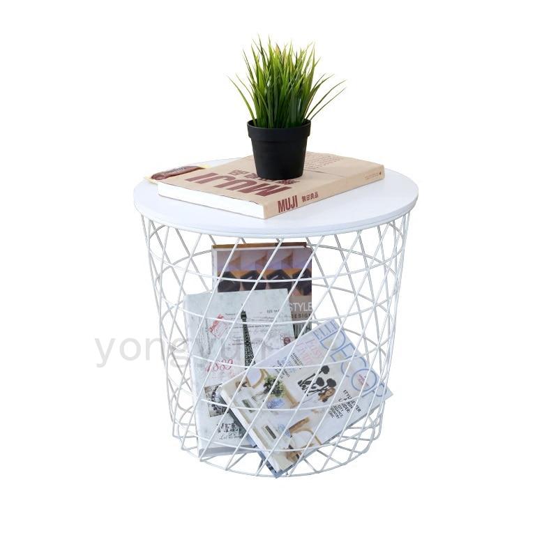 Beistelltisch metall draht  Moderne Minimalismus Ablagekörbe Wohnzimmer Möbel Lagerung ...