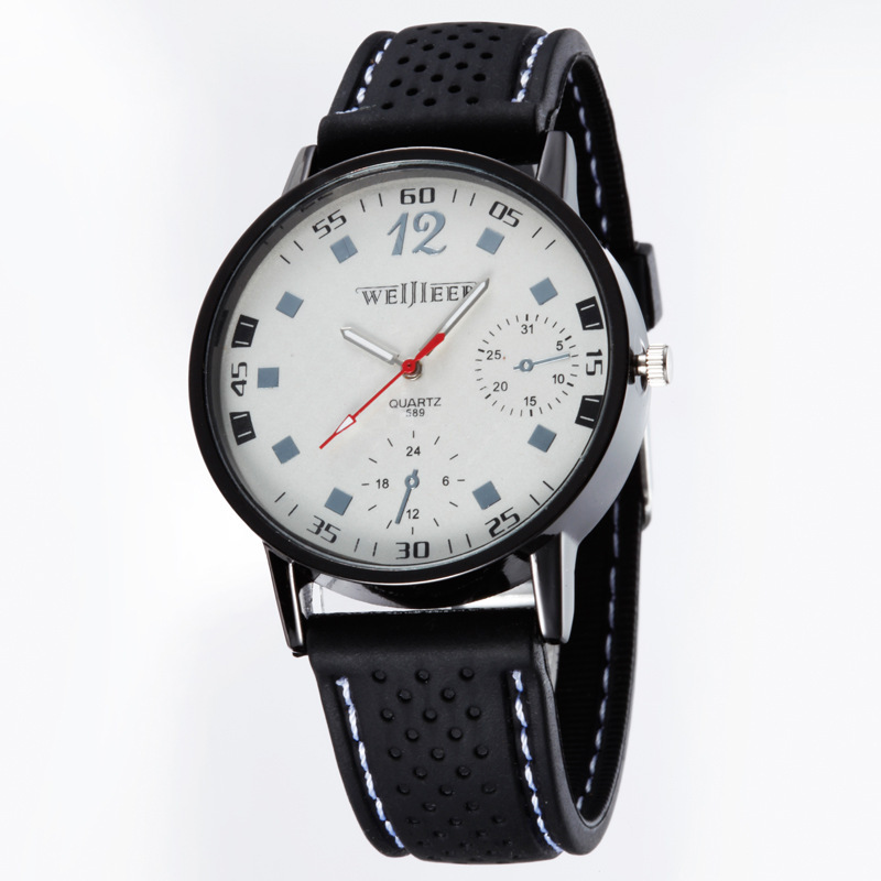 Casual Elegance Gorgeous Fashion Men Writswatch Quartz Movement Smart Men Silicone Watches For Boys Love Sports Timer