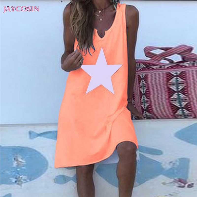 JAYCOSIN 2019 ドレスファッションセクシーな Women'sBohemian 刺繍ビーチドレスシフォンルースビーチウェアプラス S-5XL サイズ #0629