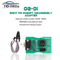 Read 8Pin EEPROM Board Works CGDI Prog For BMW&XPROG 5.60/5.70/5.74/5.84/UPA USB Programmer Reading 8 Pin Exempt Adapter FEM/BDC