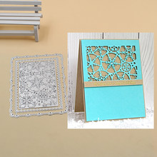 Snowflake frame set Metal Cutting Dies Stencils for DIY Scrapbook Photo Album PaperCard Decorative Craft Embossing Die 2018 NEW(China)