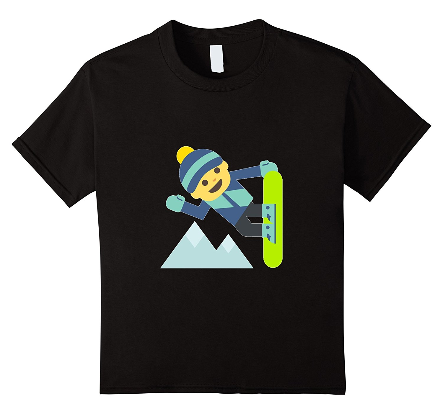 Snowboardings T-Shirt Skier Slope Winter Games Skateboard Basic Tops T Shirts 2018 Brand Clothes Slim Fit Printing