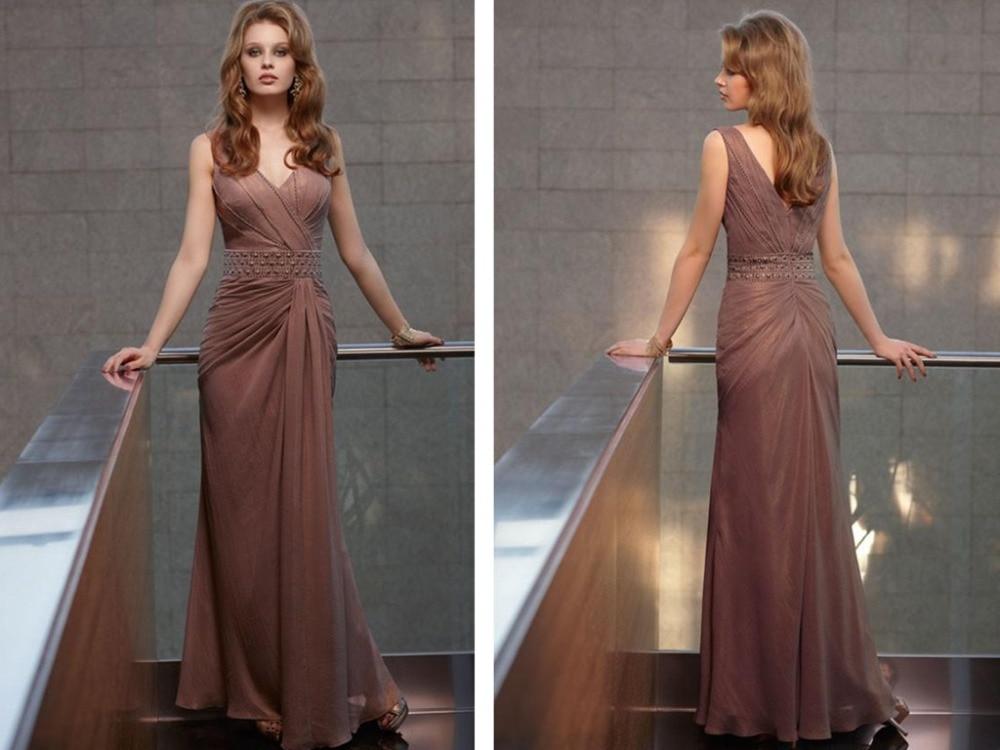 vestido de festa beading long   evening     dress   2015 new arrival formal   dresses   robe de soiree Elegant sexy v-neck party gowns