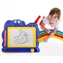 2018 NEW Children Writing Doodle Stencil Painting Magnetic Drawing Board Set Learning & Education Toys Hobbies for Kids 1PCS