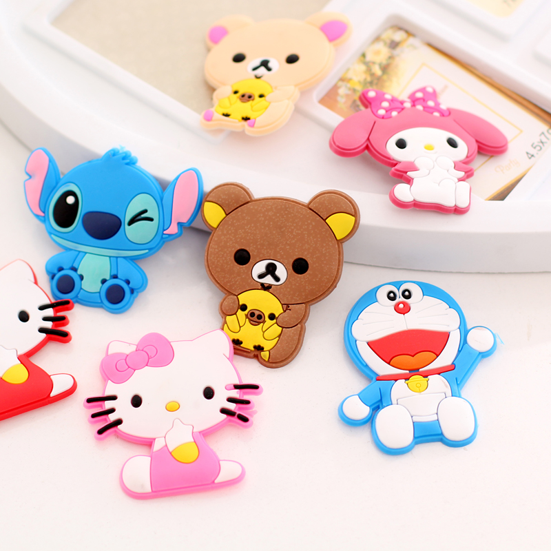 Kawaii Creative cartoon Cute Cat Bear Animal Fridge Magnets For Baby Personalised Photo Magnets For Save The Date Magnets