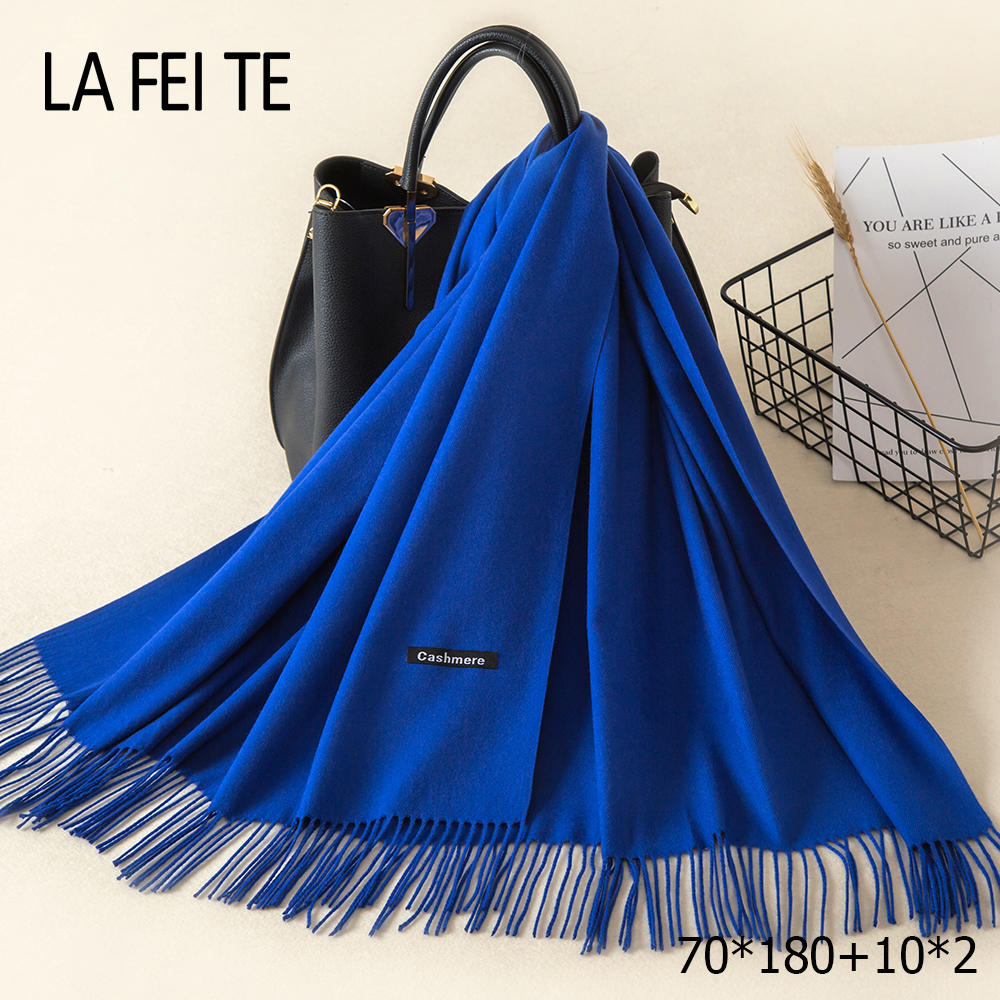 Image 5 - Lic Cashmere Women Scarf Warm Shawl Foulard Femme Pashmina Kerchief Wool Stole Head Neck Long Winter Scarf Women For Ladies 2019-in Women's Scarves from Apparel Accessories