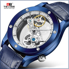 2019 New Listing Tevise Brand Men Mechanical Watch