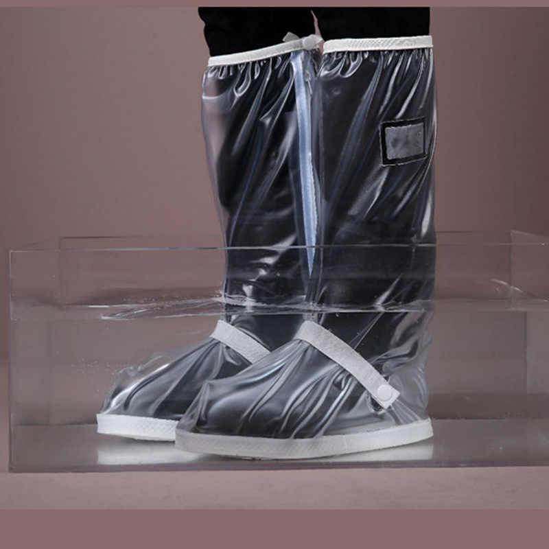 TiiMi Party Waterproof Rain Boot Shoe Cover with Reflector,Reusable /& Foldable Rain Boots,Rain Snow Gear for Cycling Motorcycle Bike Fishing Men Women Kids