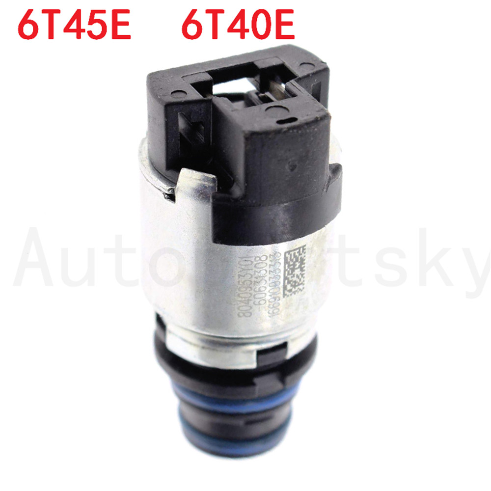 6T45E 6T40E Automatic Transmission Solenoid Short Black Blue For GM OEM  8040953y01, 60631313 ~ Super
