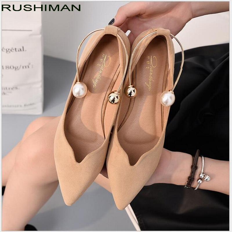 plus size 31-43 flat shoes 2018 woman fashion pointed toe shallow mouth flat shoes Casual Shoes elegant women OL dress shoes female loafers new lace mother flat shoes fashion shallow mouth ladies peas shoes tendon casual women leather shoes plus size