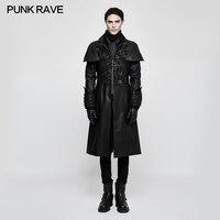 Панк Rave Новый Rock Gothic Vampire стимпанк мода copaly Стиль пальто Y802BK