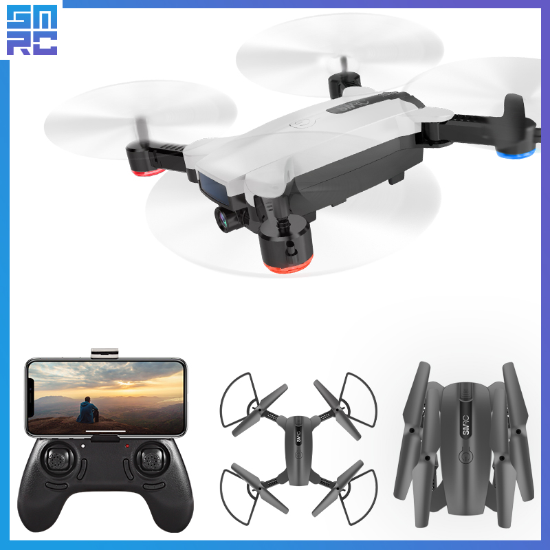 SMRC 4K Mini Quadrocopter Pocket Drones with Camera HD small WiFi mine RC Plane Quadcopter race helicopter fpv racing Dron Toys drone x pro