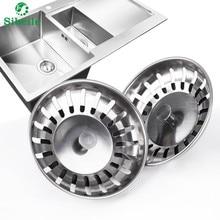 Высокое качество 1 шт. 304 нержавеющая сталь фильтр-пробка для кухонной раковины заглушка для раковины фильтр для раковины Ванная раковина слив кухонный инструмент