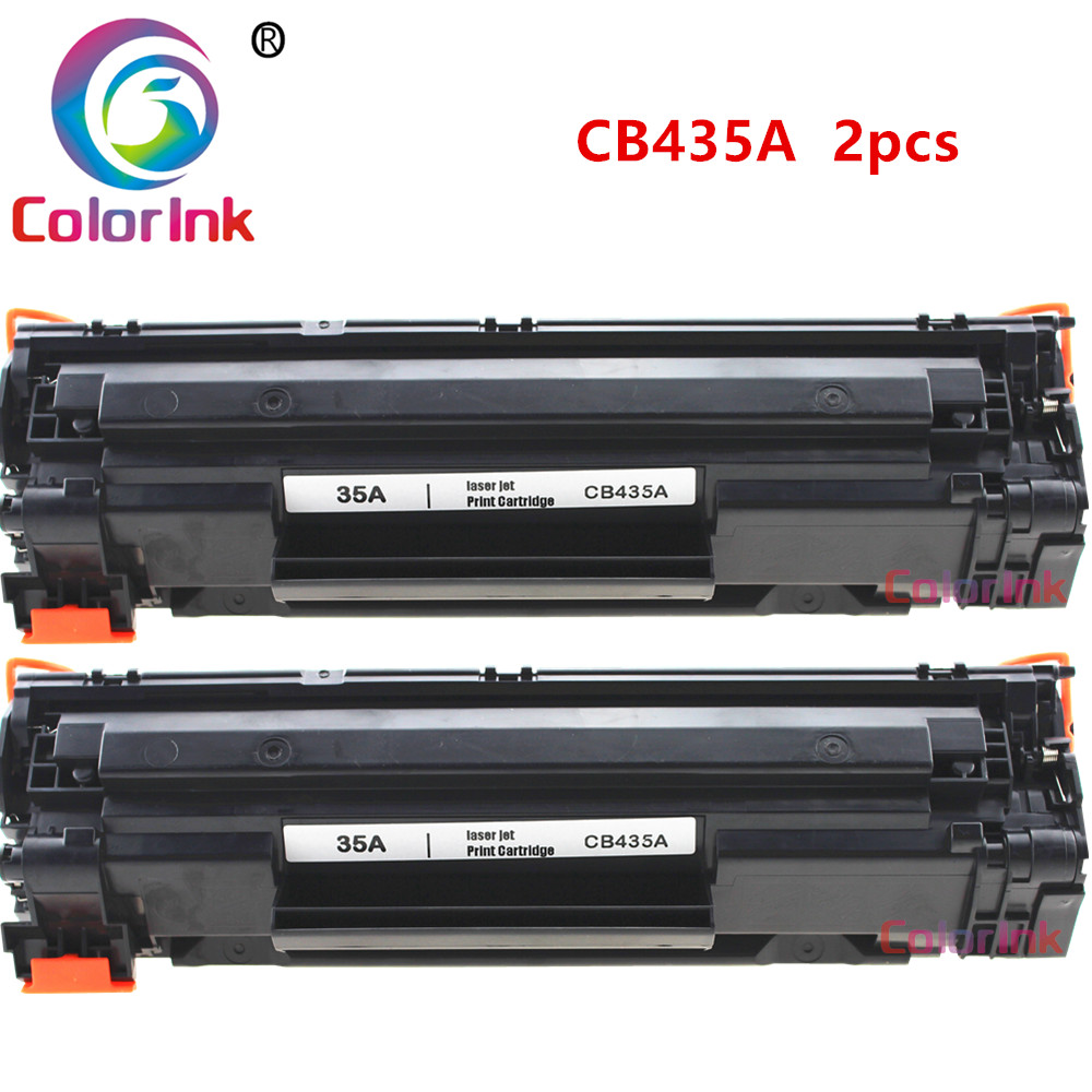 4pk CB435A 35A Black Toner Cartridge For HP LaserJet P1005 P1006 P1009 Printer
