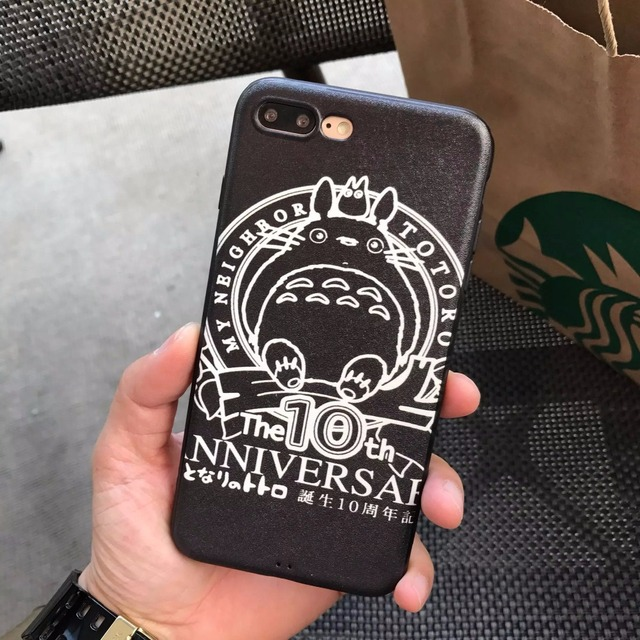 The 10th Anniversary Totoro iPhone Case