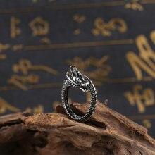 jingyang Fashion Rock Hip Hop Sieraden Kan Open Gouden Overheersend Lion Head Ring Titanium Staal Rvs Punk Mannen