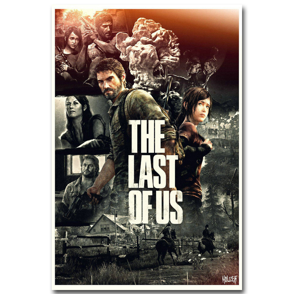 The Last of Us 2 Poster Hot Game Art Silk Poster Print 12x18 24x36 inch