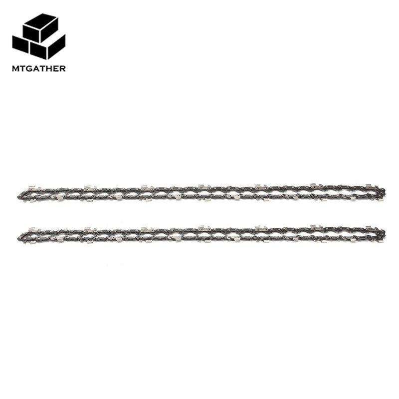 MTGATHER 2X 14 Inch 52 Link Chainsaw Saw Chain Drive Link Pitch 3/8LP 050 Gauge Chainsaw Blade For Garden Tools