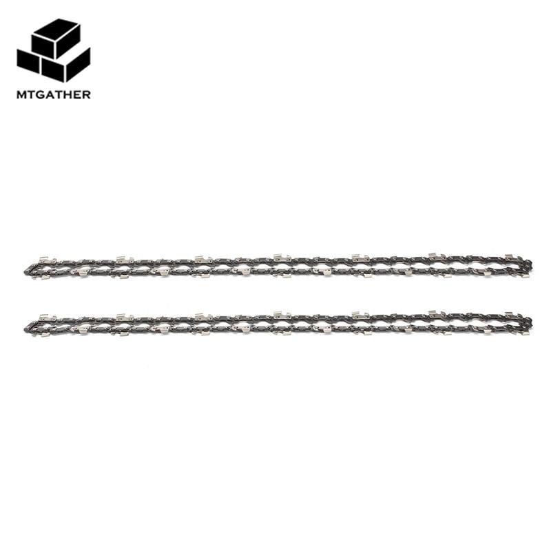 MTGATHER 2X14 Zoll 52 Link Kettensäge Kettenantrieb Link Pitch 3/8LP 050 Gauge Kettensäge Klinge für Gartengeräte