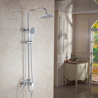 Яркий Защита от солнца тропический душ Медь отправился туалетной воды душ Товары для ванной