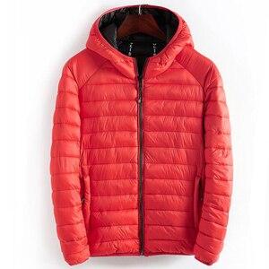 Image 5 - ฤดูหนาวชายเสื้อHooded Casualน้ำหนักเบาอุ่นฝ้ายพื้นฐานแจ็คเก็ตOutwearบุรุษเสื้อWindbreakerเสื้อผ้าใหม่